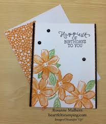 garden in bloom birthday heartfelt stamping