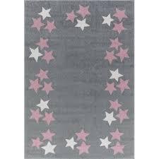 kids rugs kids rug happy rugs borderstar silver gray pink 120x180cm 119 00