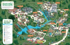 Chicago Botanic Garden Map by Busch Gardens Virginia Markus Ansara