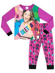 disney violetta pyjamas official merchandise character