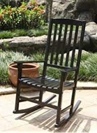 Mainstays Patio Furniture by Amazon Com Mainstays Outdoor Rocking Chair Black Patio Lawn