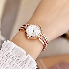 gold ladies bracelet watches images New fashion rhinestone watches women luxury brand stainless steel jpg