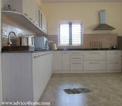 latest kitchen design and wall in kitchen room