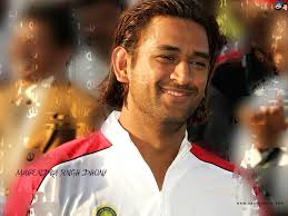 blogger i love you mahendra singh dhoni with long hairstyle
