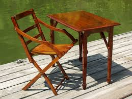 Small Wooden Folding Table Lewis And Associates Barbados Folding Table Sold Out