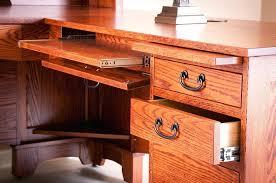 Wood Desk Plans by Desk Wood L Shaped Desk Plans Solid Wood L Shaped Desk With