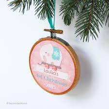 personalized christmas ornaments baby so september some ornament updates