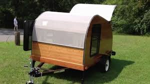 5x8 cherry hillcrest convertible teardrop camper hybrid youtube