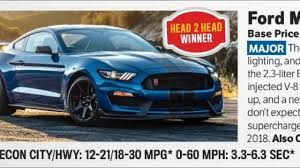Ford Shelby Gt500 Engine Leaked 2019 Ford Mustang Shelby Gt500 Has 680 Hp Car News