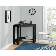 altra home decor altra furniture parsons black desk 9888496com the home depot