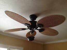 leaf ceiling fan with light pleasantly and naturally palm leaf ceiling fan home ideas collection