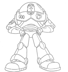 coloring gorgeous buzz coloring pages toy story lightyear