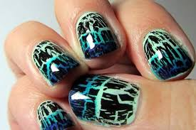 how to paint with crackle nail paint u0026 nail polish ideas