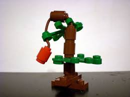 charly brown tree moc brown christmas tree lego town eurobricks forums