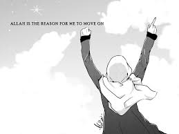 allah is the reason for me to move on by yana8nurel6bdkbaik on