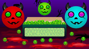 halloween cartoon image learn colors with halloween for kids halloween cartoons for baby
