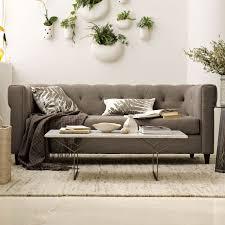 west elm leather sofa reviews west elm rochester sofa reviews www cintronbeveragegroup com