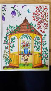 secret garden colouring book postcards johanna basford secret garden postcard coloring