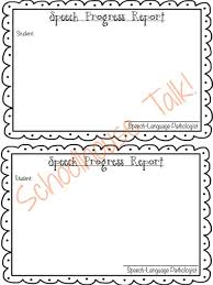 elementary progress report template schoolhouse talk free speech therapy progress report template
