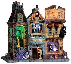135 best lemax spooky town images on