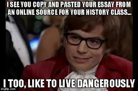 Memes About Writing Papers - essay meme