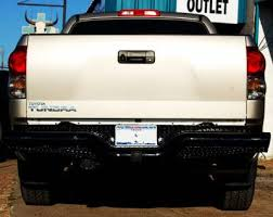 2002 toyota tacoma rear bumper replacement rear bumpers tough country deluxe rear bumper toyota