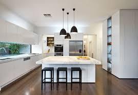 cuisine blanche avec ilot central ilot de cuisine blanc cuisine en image