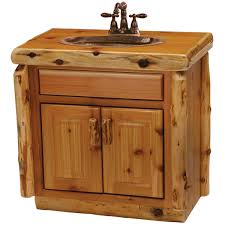 slab sink cedar 30 vanity sink center optional liquid glass finish slab top