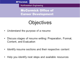 Example Objectives In Resume by Resume Writing Objectives Understand The Purpose Of A Resume