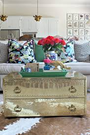 brass trunk coffee table i struck gold brass chest coffee table dimples coffee and