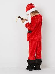 christmas santa claus fancy dress costume kids george
