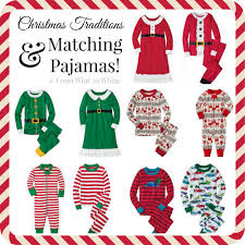 christmas traditions u0026 matching pajamas from wine to whine