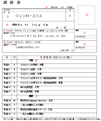 letter address format japan writing the rirekisho john turningpin u0027s mad tokyo