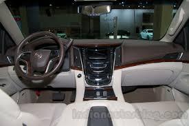 Cadillac Escalade 2014 Interior 2015 Cadillac Escalade At The 2014 Moscow Motor Show Interior