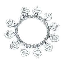 multi heart bracelet images Tiffany co multi heart tag bracelet lyst jpeg