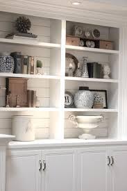 wall units astonishing white built in bookshelves white built in