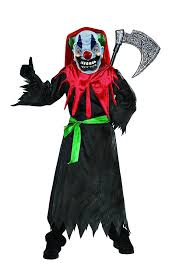 Evil Clown Halloween Costume Boys Crazy Clown Costume Halloween Costumes 4u Kids Costumes