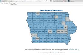 Iowa Counties Map Payment Options For Property Taxes Black Hawk County Ia