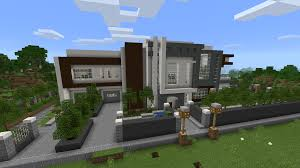 modern mansion map for mcpe android apps on google play