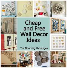 inexpensive wall decorating ideas 1000 ideas about cheap wall