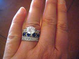 faux engagement rings modern rings wedding promise engagement