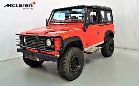 land rover defender convertible 1994 land rover defender 90 for sale in norwell ma 943905