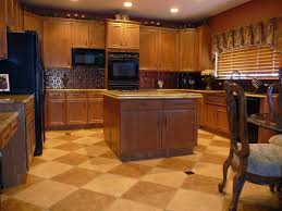 kitchen tile floor design ideas kitchen heavenly kitchen design ideas with two tone diagonal tile