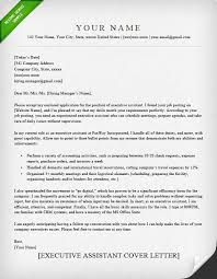 Example For Resume Cover Letter by Administrative Assistant U0026 Executive Assistant Cover Letter