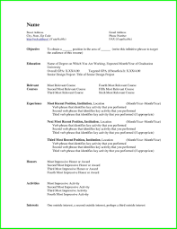 Free Resume Templates Online To Print by Curriculum Vitae Resume Template For Human Resources Resumes