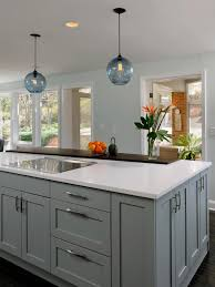 kitchen island different color than cabinets painted kitchen gallery with colored islands images island