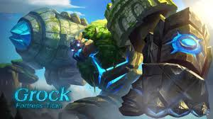 Mobile Legends Guardian Of The Fortress Grock Charges Into Mobile Legends