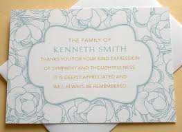 sles of thank you notes thank you letter for funeral flowers best flowers and 2017
