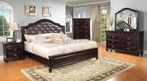 platform bedroom furniture set with leather headboard 146 xiorex