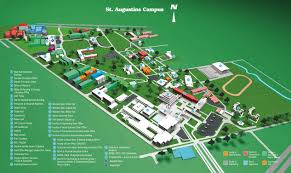 St Augustine Map Contact